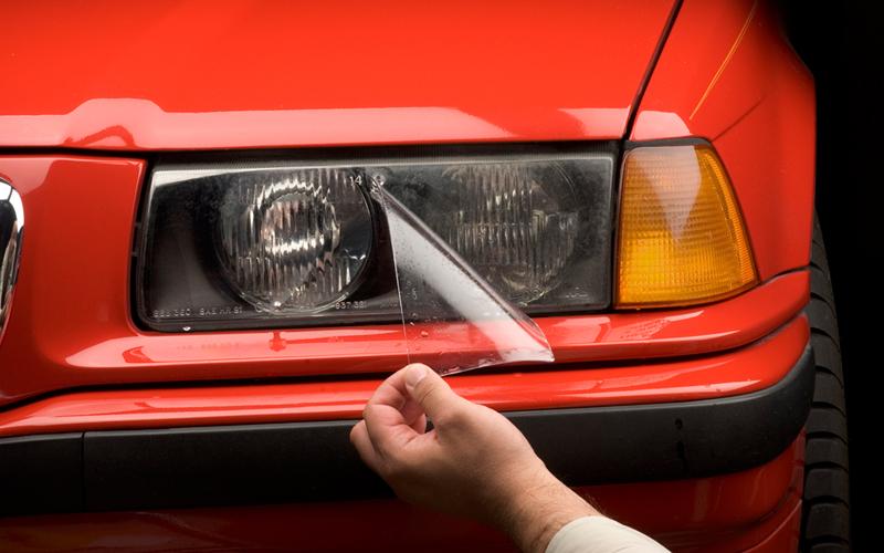 Бронирование фар лобового стекла авто пленкой своими руками